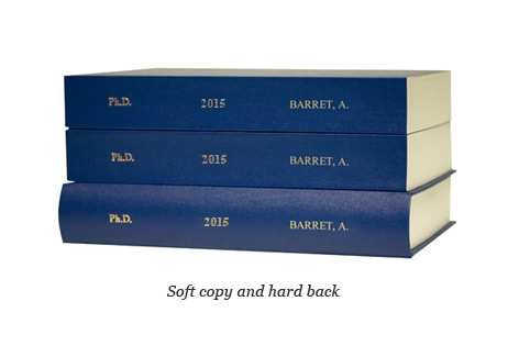 Phd thesis spine